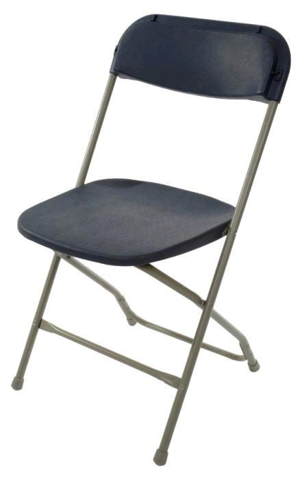 Samsonite folding chair slate gray blue sun rental center